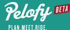 Pelofy Cycling Plan Meet Ride Logo